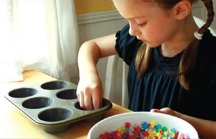 melty bead suncatcher artful parent