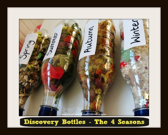 seasonal sensory bottles