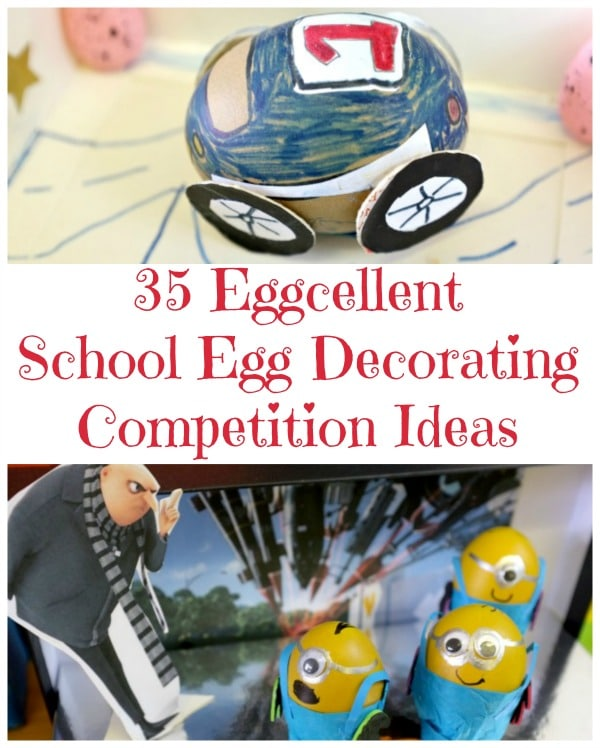 Need ideas for an Egg Decorating Competition? If you love Scientists have a go at our Thinking Outside the Box Egg Decorating Project: Great Scientist Eggs #easter #eggs #decorating #competition #science #scientists #steam