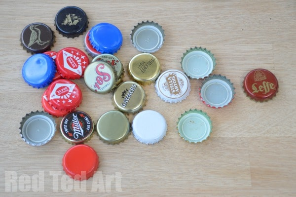 Bottle Top Bugs - Step 1 a