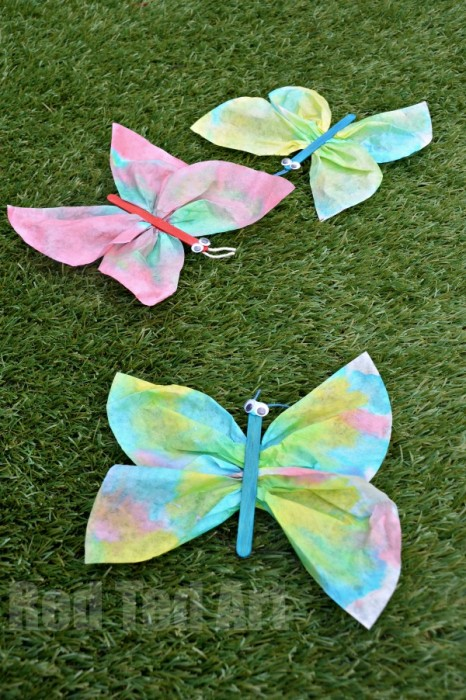 Coffee Filter Butterfly Crafts For Preschoolers Red Ted Art S Blog