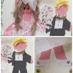 DIY Wedding Card - Class Card for a Teacher Getting Married