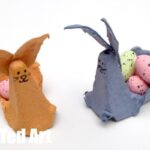 Egg Carton Crafts - Easter Bunny