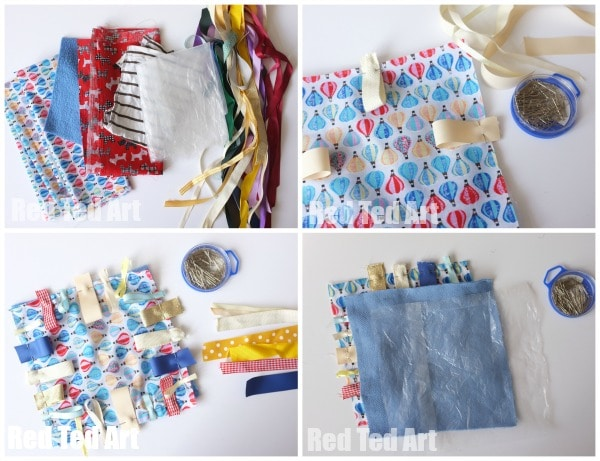 How To Make A Taggie Blanket - DIY Baby Gifts