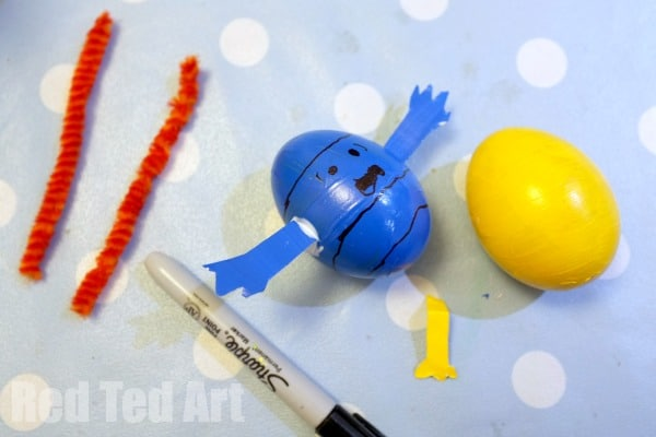Mr Men Easter Eggs