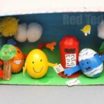 Mr Men Egg Decorating