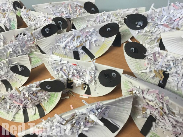Paper Plate Rocking Sheep
