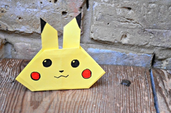 Pikachu Craft - Pokémon DIY - perfect for Pokemon Go fans!