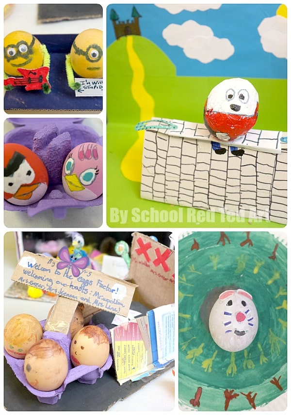 School Egg Decorating Competition - set 1