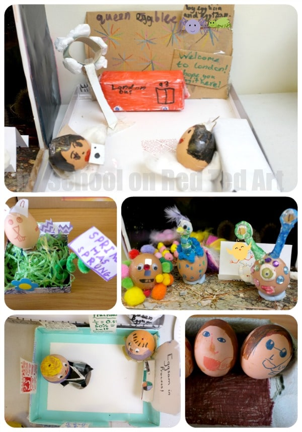 School Egg Decorating Competition - set 2