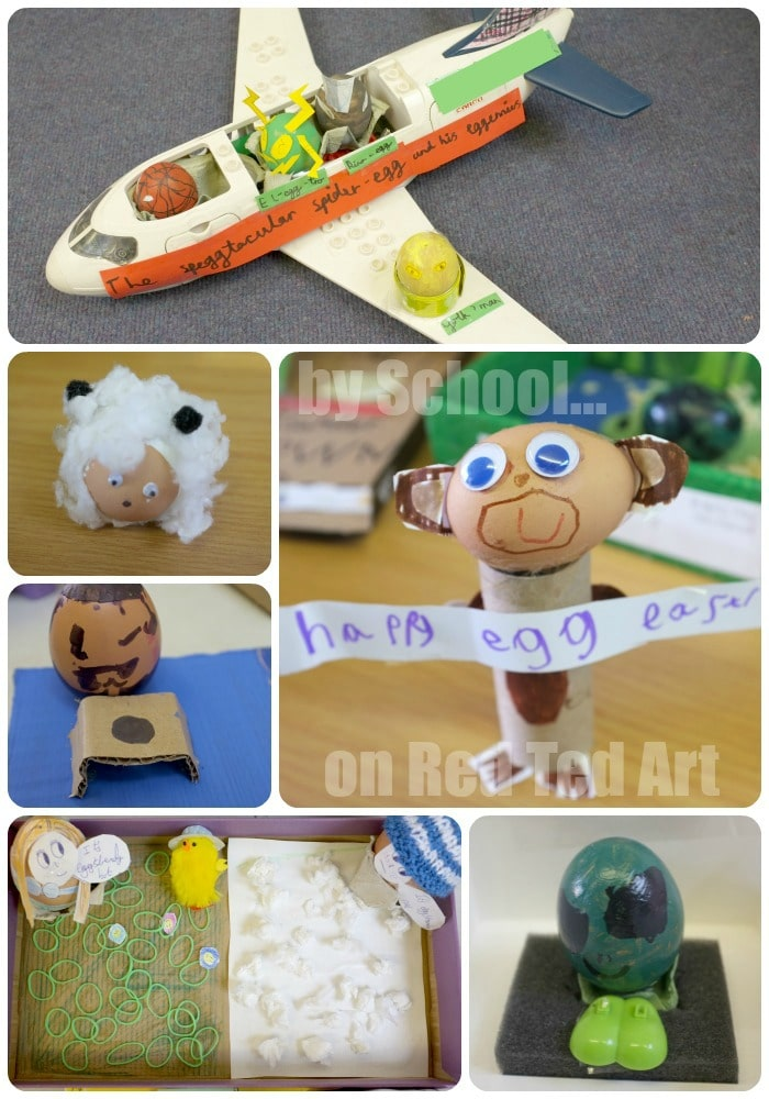 School Egg Decorating Competition - set 3