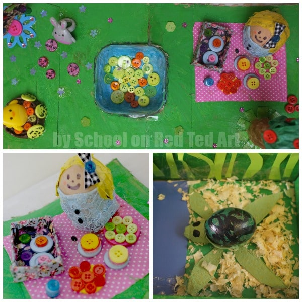 School Egg Decorating Competition - set 4