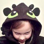 Toothless DIY Costume