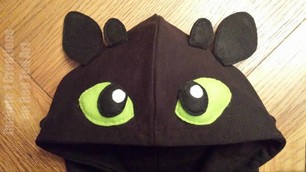 How To Make A Toothless Dragon Costume Red Ted Art