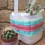 Woven Basket - Upcycle a Milk Carton