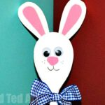easter-arts-and-crafts-for-children bunny spoon
