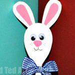 Wooden Spoon Bunny
