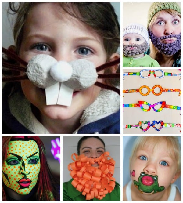15 Funny Face Ideas #RedNoseDay