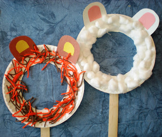 simple paper plate masks