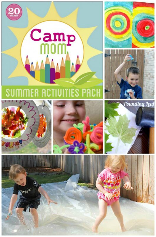 Camp Mom! Over 80 Activities Tried and tested to keep your kids busy this Summer!