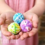 DIY Bouncy Balls – A Great Way to Use Up Rainbow Loom Bands