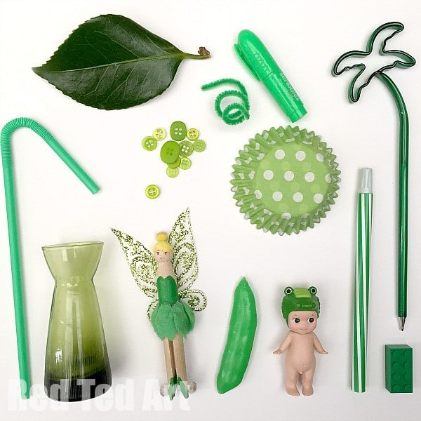 Green Colour Hunt Activity for Kids