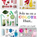 Join us on the Rainbow Colour Hunt you may just find a pot of GOLD