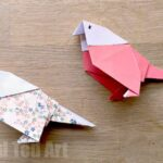 How To Make an Origami Budgie