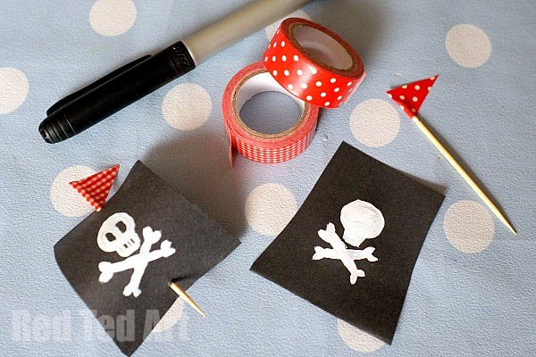 Simple Pirate Ship Craft