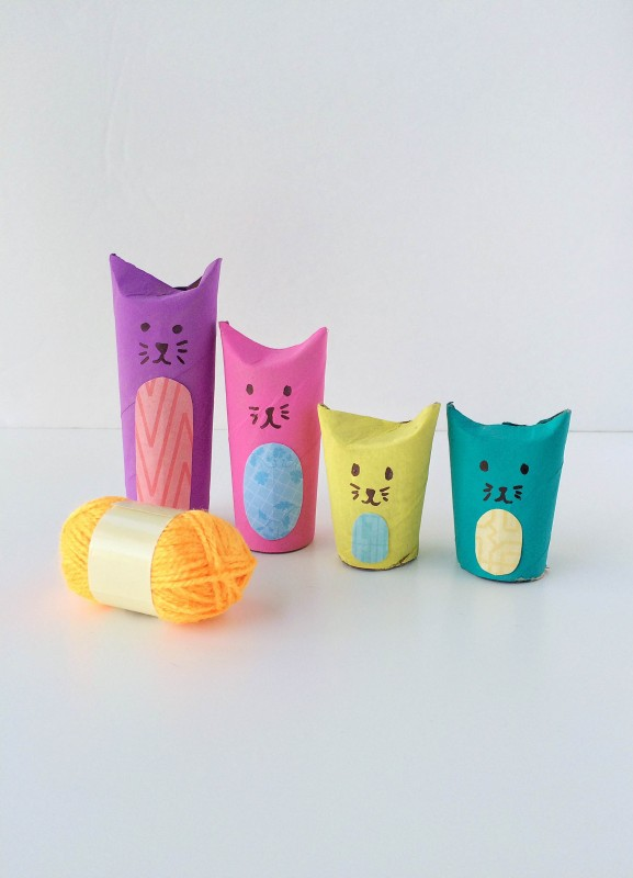 TP Roll Cat Family
