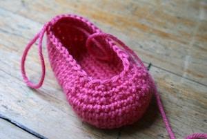 baby booties crochet pattern 12
