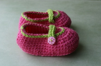 baby booties crochet pattern 14