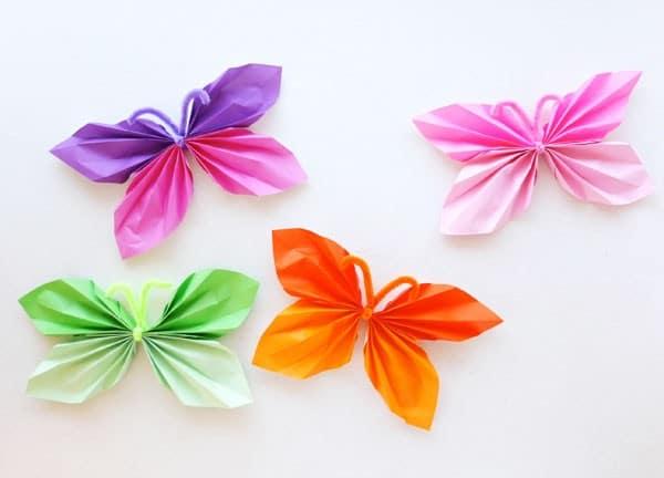 coloured-butterflies