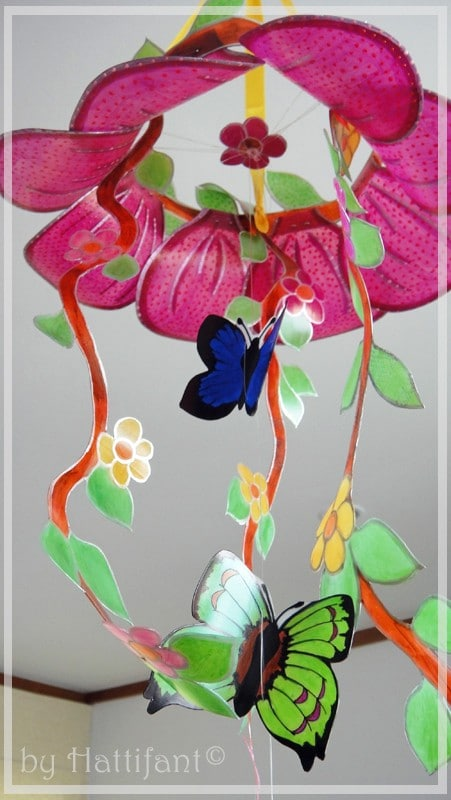 35 butterfly crafts red ted art 39 s blog for Bottle arts and crafts