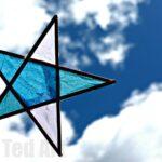 Craft Stick Paper Stars