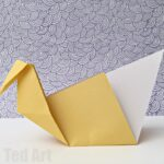 Easy Origami Swan – a great intro to Origami