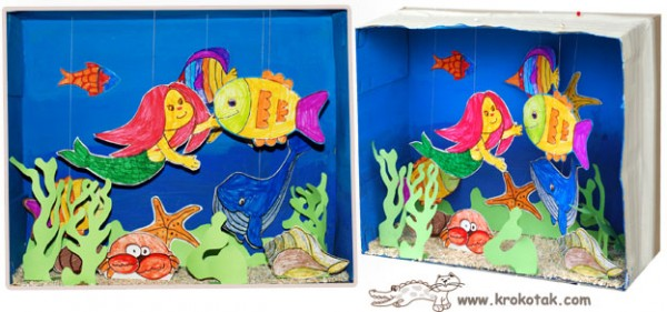 shoe box acquarium