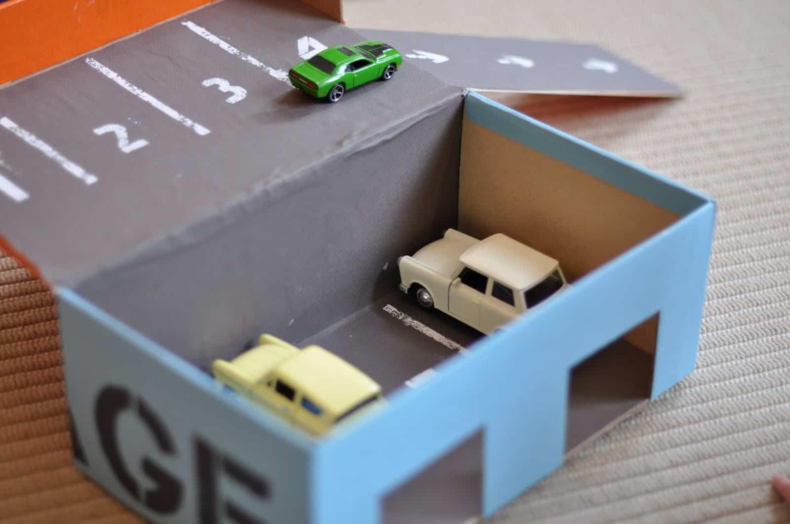 A Box In Garage : Shoebox garage red ted art s
