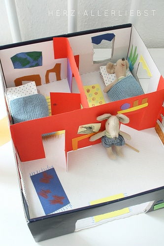 shoebox mouse dolls house