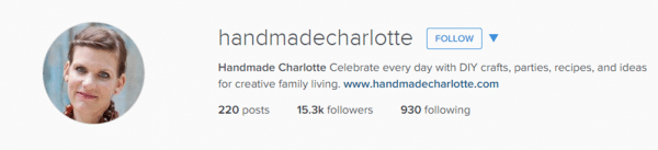 Follow handmadecharlotte & redtedart on instragam for fabulous creative inspiration