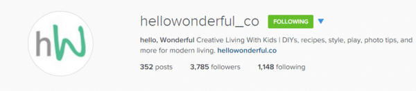 Follow hellowonderful_co & redtedart on instragam for fabulous creative inspiration