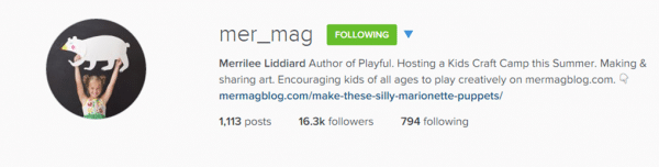 Follow mer_mag & redtedart on instragam for fabulous creative inspiration