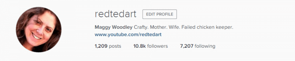 Follow redtedart on instragam for fabulous creative inspiration