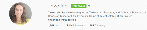 Follow tinkerlab & redtedart on instragam for fabulous creative inspiration