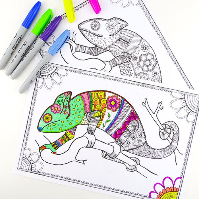 Free Colouring Pages For Grown Ups Click Print And