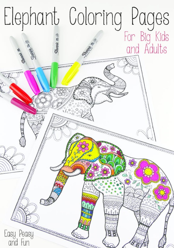 Colouring Pages for Grown Ups - Chameleons - Red Ted Art ...