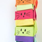 Stacking Origami Gift Boxes – Cute Cats