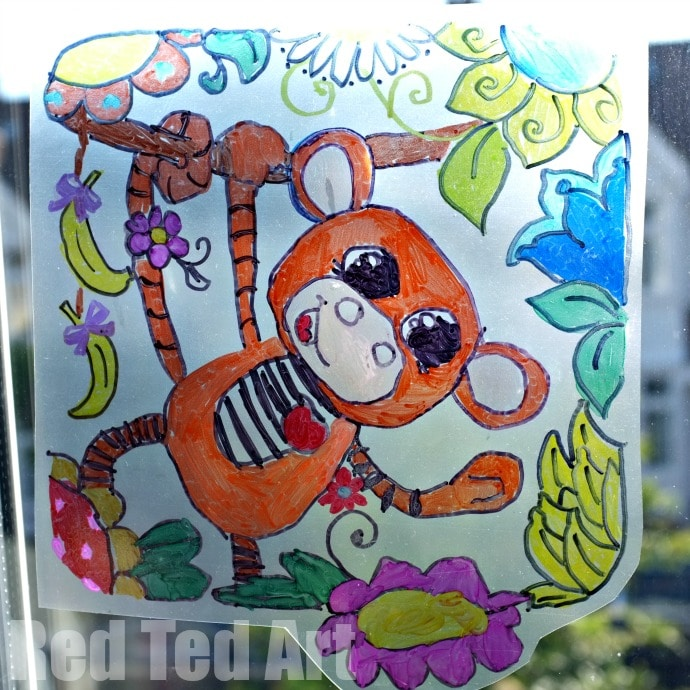 Sun Catcher Colouring Pages - use colouring pages to create wonderful suncatchers (Free Printables)