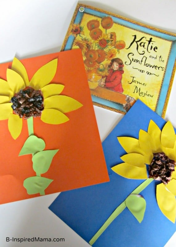 Sunflower Paper Plate Craft Choice Image