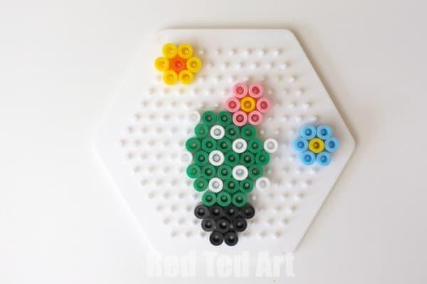 Cactus Crafts - Perler Bead Pattern